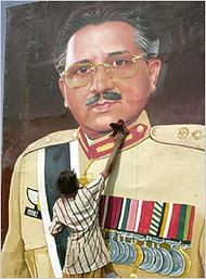 Pervez Musharraf  (K. M. Chaudary/Associated Press) @ New York Times