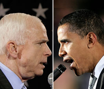 John McCain vs Barack Obama