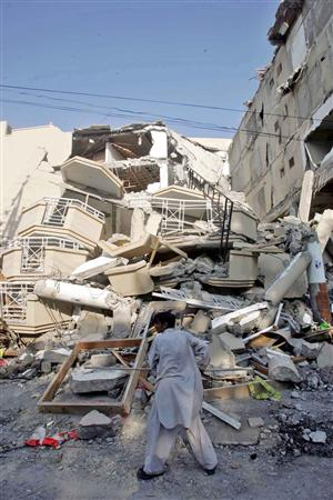 Margala Tower after Earthquake 2005
