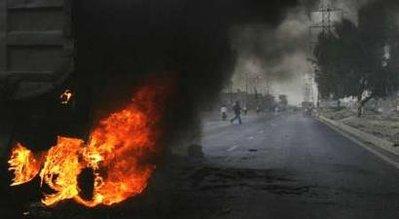 karachi violence april 2009 - Reuters