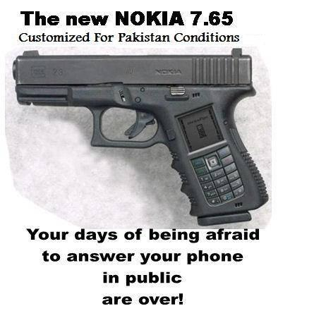 Nokia Mobile Phone customized for Pakistan