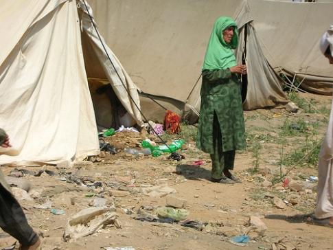 Swat IDPs in Islamabad 1