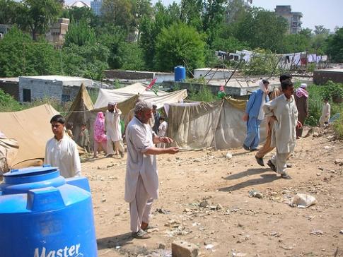 Swat IDPs in Islamabad 2