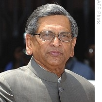 Indian Minister S. M Krishna