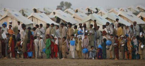 IDPs at camps