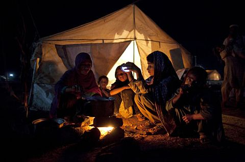 Displaced Women in IDP camps