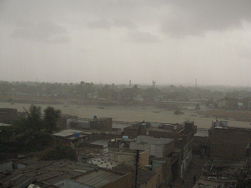 Rain in Karachi - July 2009 (Flickr)
