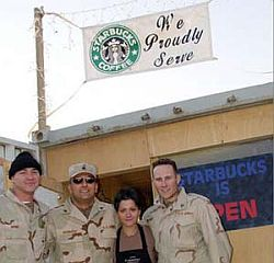 Satrbucks in Afghanistan