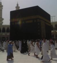 Kaaba Tawaf in Umrah