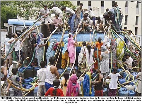 Water Shortage in Delhi
