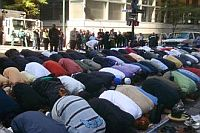Muslims in Australia have had to pray outdoors for lack of prayer space