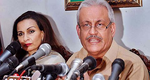 Sherry Rehman and Raza Rabbani resignation unaccepted yet
