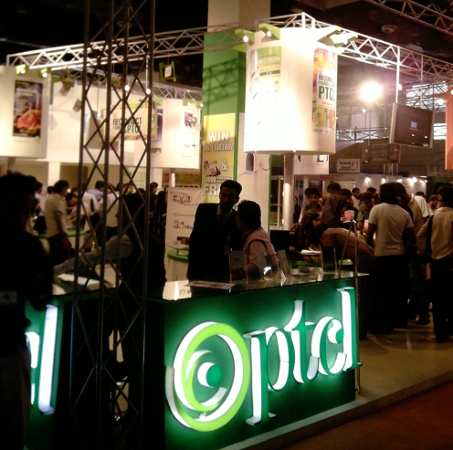 PTCL booth at ITCN 2009