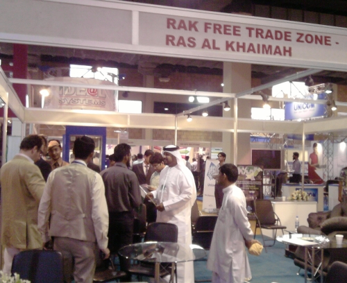 RAK Free Trade Zone Booth at ITCN 2009