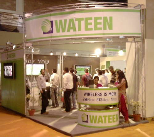Wateen Booth at ITCN 2009