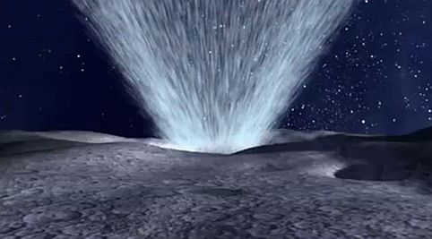 Evidence of Significant Moon Water by NASA
