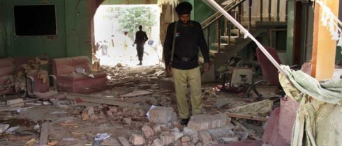 world visiion office in oghi pakistan attacked