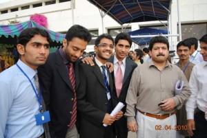 Bilal Jamaee with Hamid Mir