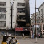 Gulistan Johar Karachi Arson
