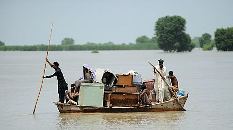 Pakistan Flood survivors