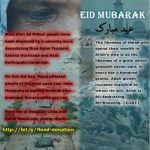 Celebrate this Eid with Pakistan Flood Victims
