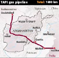TAPI Gas pipeline