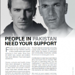 UN ambassadors Beckham and Zidane appeal for Pakistan flood
