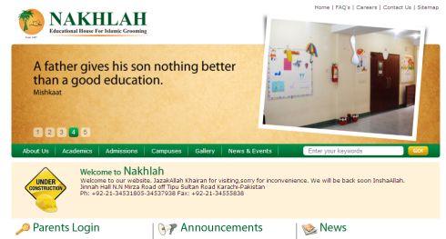 Nakhlah School Karachi