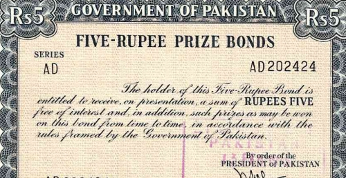 prize bond