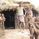 poor india village