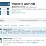 Taliban Tweets In English