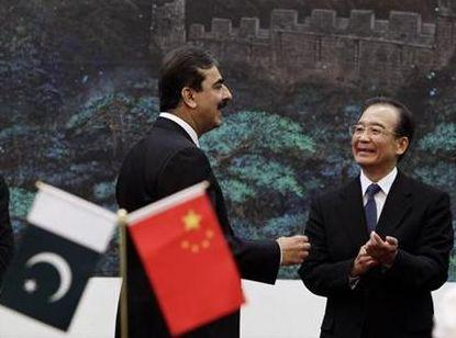Yousuf Raza Gilani meets Wen Jiabao - Reuters