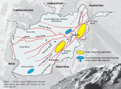 Rare Earth Elements in Afghanistan