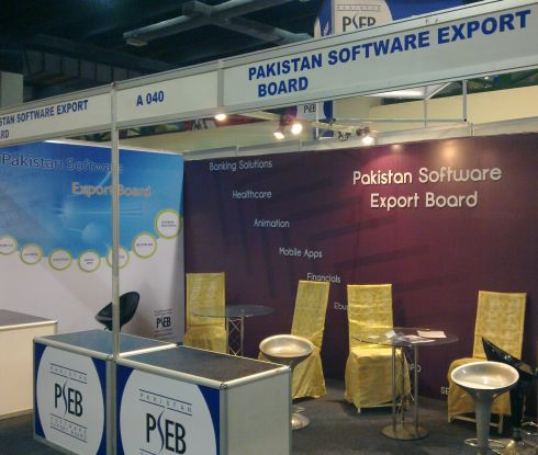 Pakistan Software Export Board at ITCN 2011
