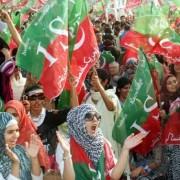 PTI Jalsa Lahore