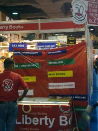Liberty Books at Karachi International Book Fair 2011