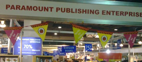 Paramount Books at Karachi International Book Fair 2011