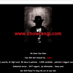 Dawn News website defaced