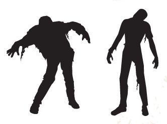 Zombies walking dead living betrayed