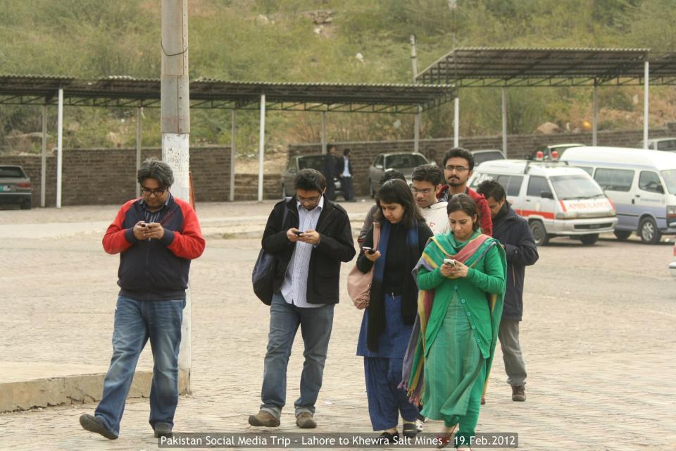 Social Media Checkins during Pakistan Social Media Trip