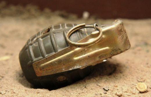 Karachi Extortion Grenade