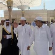 Nawaz Sharif in Medina