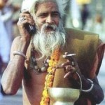 Beggars Using Cell Phones