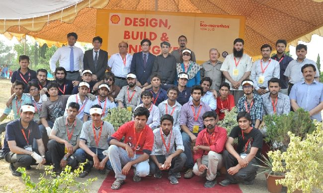 Shell Eco Marathon launch event - group photo