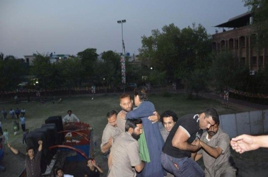 khan falled