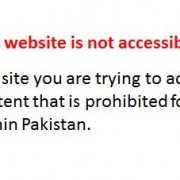Amazon Tumblr blocked by PTCL in Pakistan