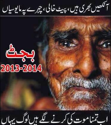 Pakistan Budget 2013 Social Media