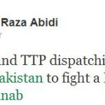 MQM MNA Ali Raza Abidi incites sectarian hate by his tweet