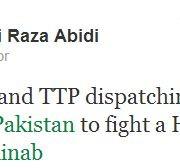MQM MNA Ali Raza Abidi hate tweet