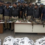 terrorists and recovered ammo karachi airport attack